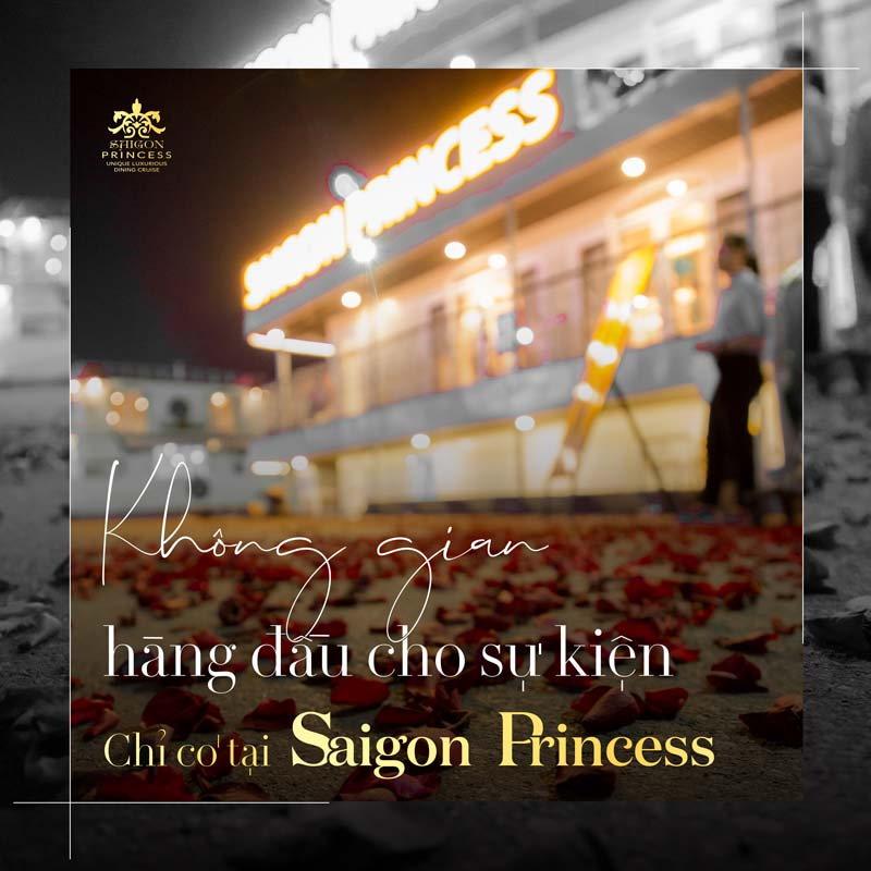 Saigon Princess - A palace for year-end events