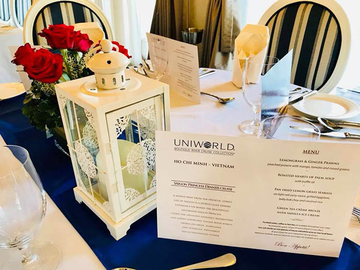 Welcome UNIWORLD valuable guests on board