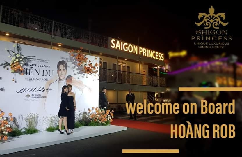 Saigon Princess with Hoàng Rob