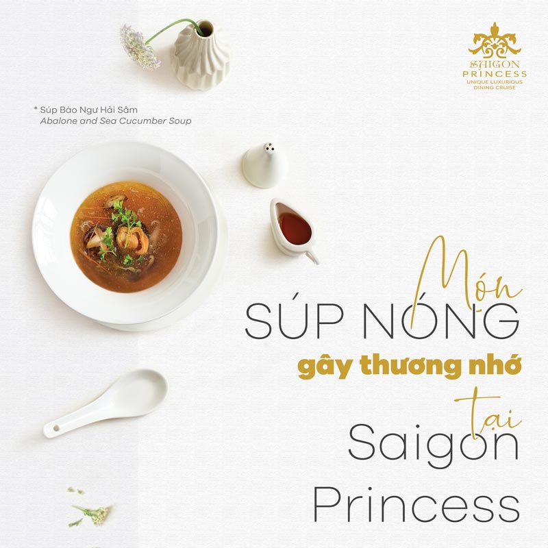 The hot memorable soup at Saigon Princess