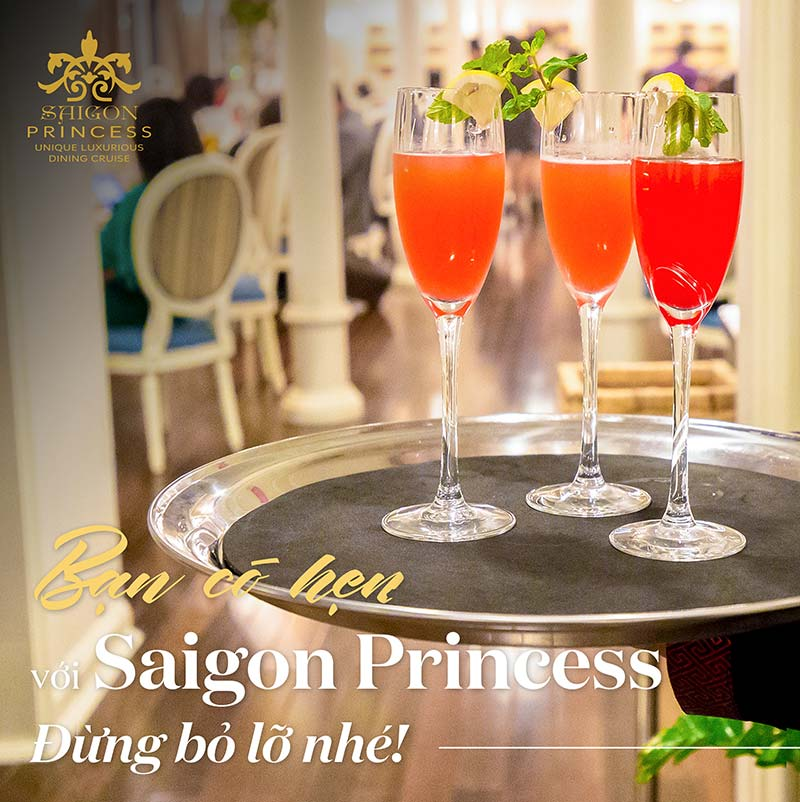 You have got a date with Saigon Princess, Don't miss it!