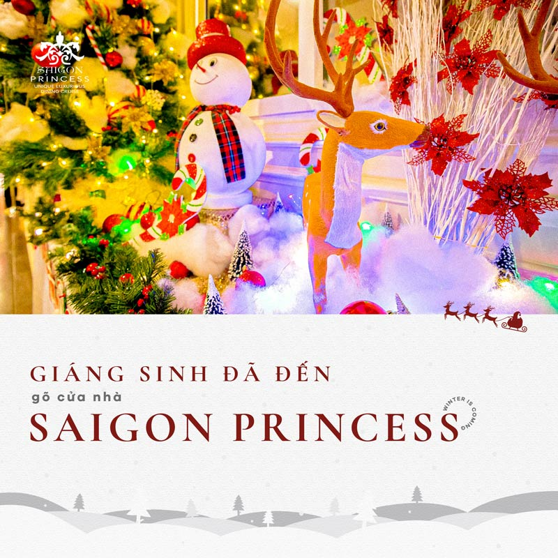 Christmas already at the door of Saigon Princess