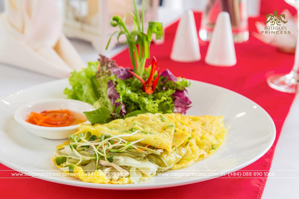 Vietnamese Vegetable Pancake