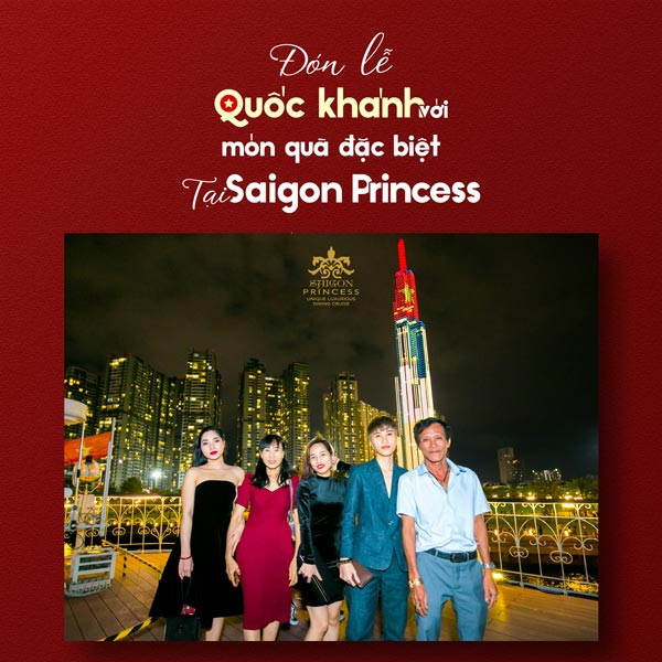 Celebrating The National Day with a special gift at the Saigon Princess