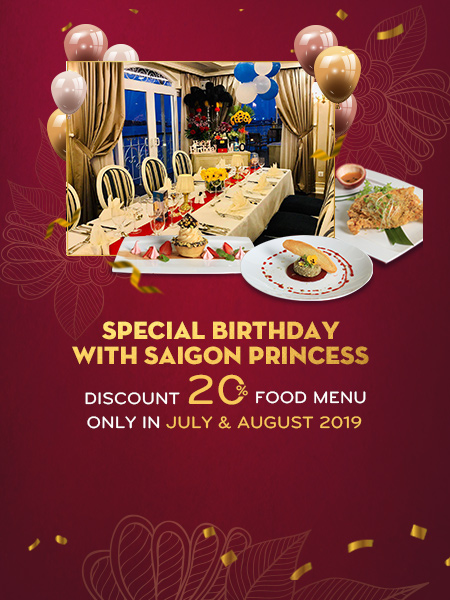Special Birthday with Saigon Princess