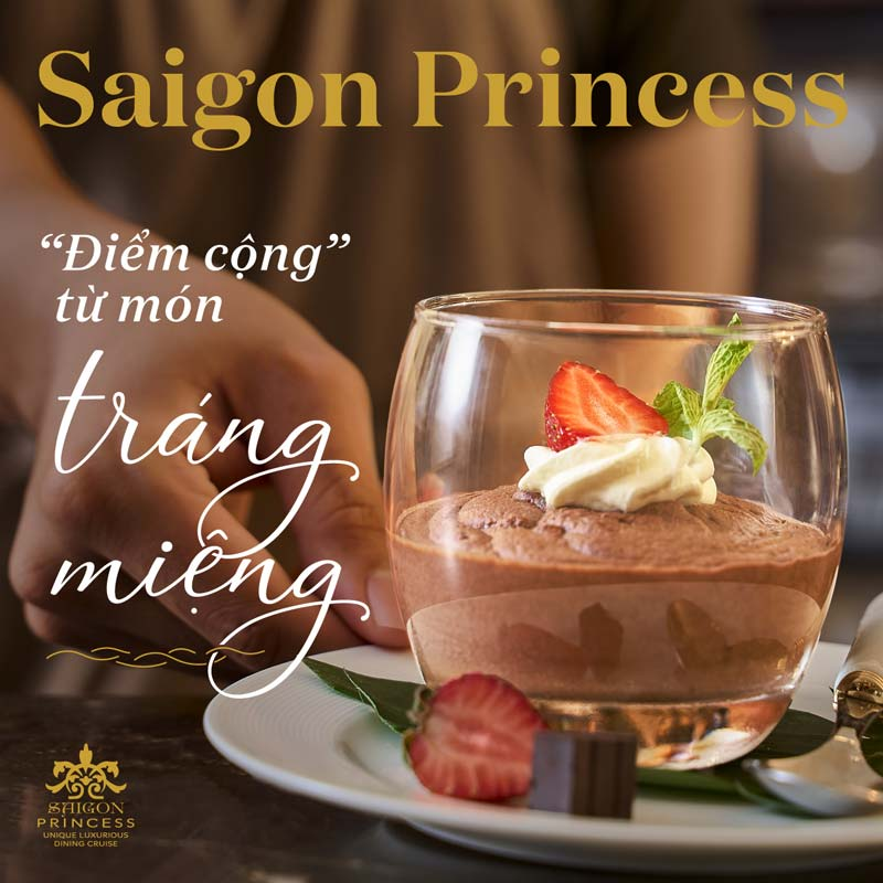 "Saigon Princess - ""The pros"" of delicious desserts"