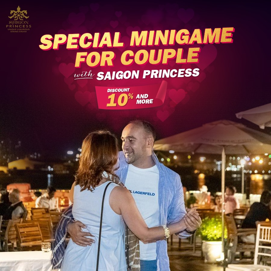 Special Minigame for Couple with Saigon Princess