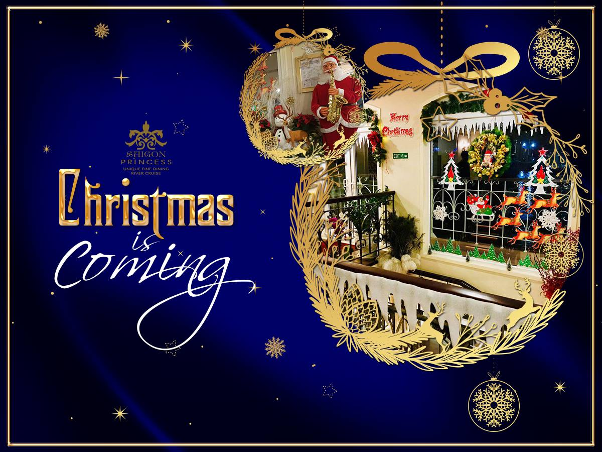 Saigon Princess is ready to make a difference to your Christmas Special menu with attractive dishes