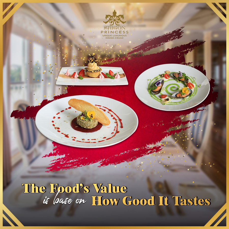 The Food's value is base on How good it tastes.